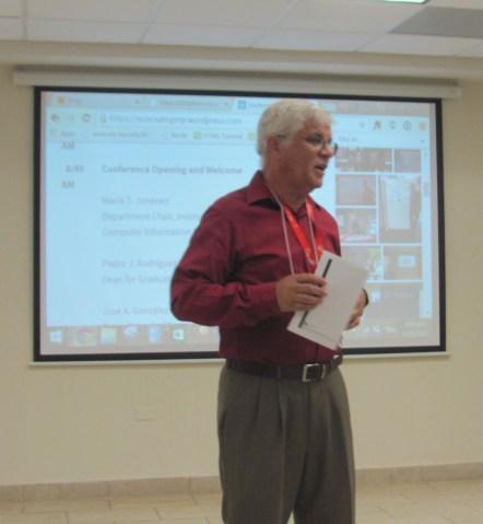 Dr. José A. González Taboada, Dean, School of Business Administration , UPR Río Piedras