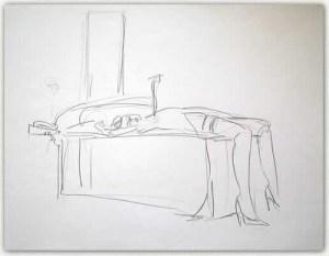 Artist: Solomon Cohen Title: After Call