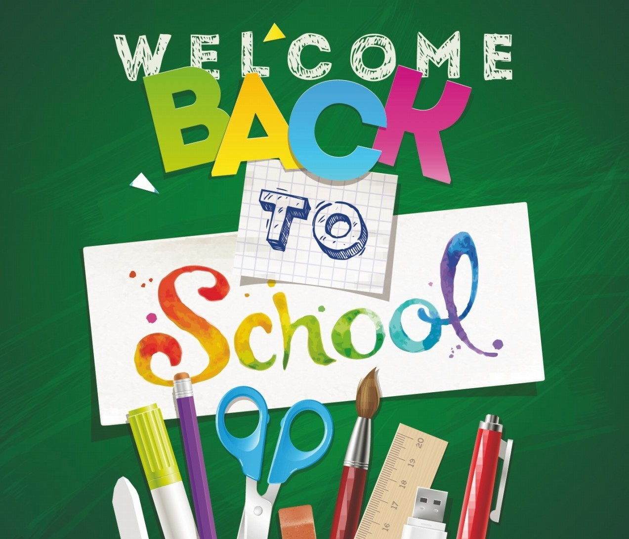 Welcome Back To School Scoil Mhuire