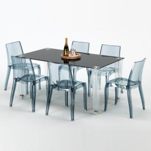 Scaune de Plastic Transparente Terasa Restaurant