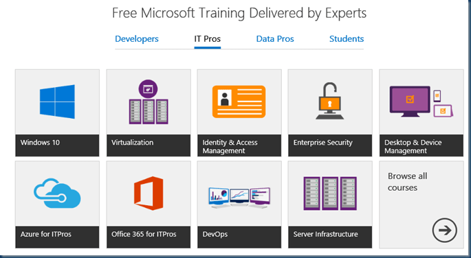 Free Microsoft Training Delivered by Experts