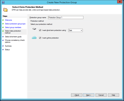 Configure Microsoft #Azure Backup D2D2C – Disk to #Disk to