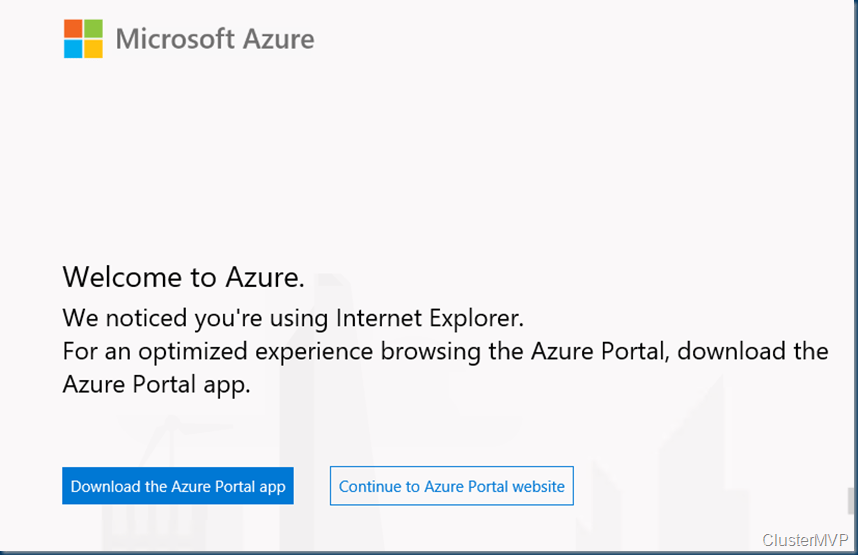 How to install Azure Portal app on Windows server 2019 #ws2019