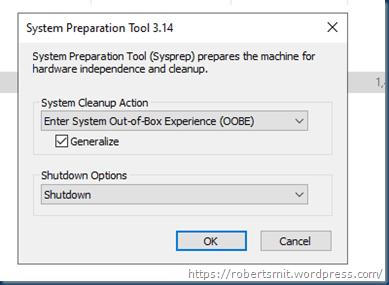 Unable to Sysprep Windows Server 2022