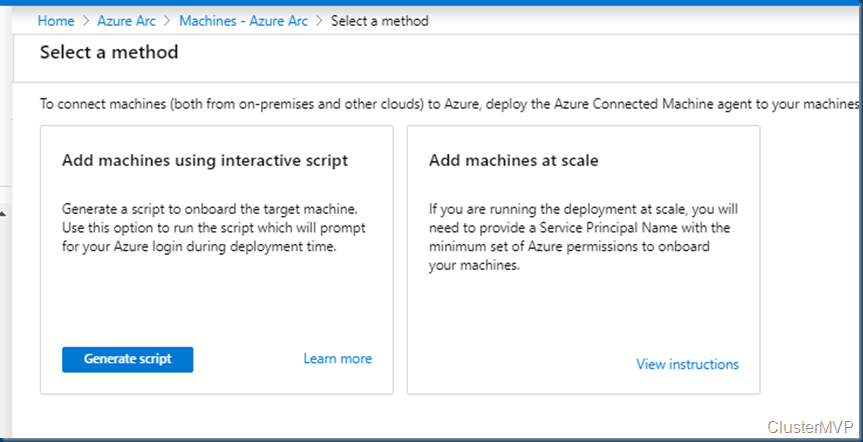 Azure Connected Machine Onboarding