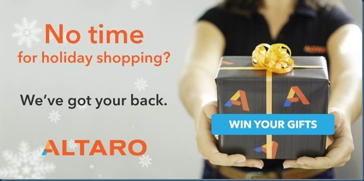 This Holiday Season, Altaro is helping you out with your Holiday Shopping
