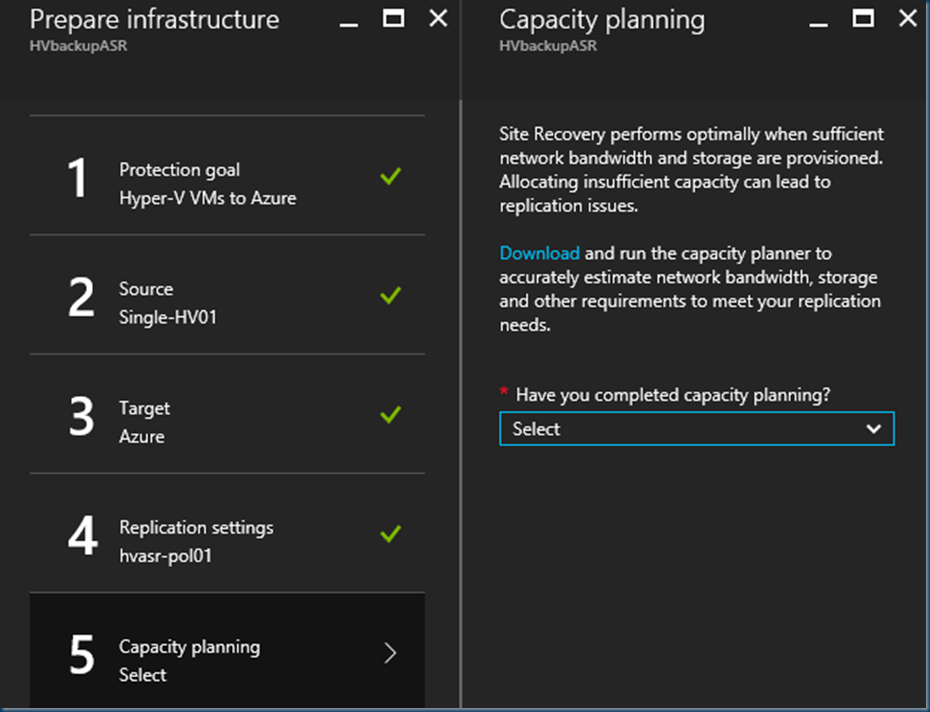Replicate Hyper-V virtual machines to #Azure using Azure Site