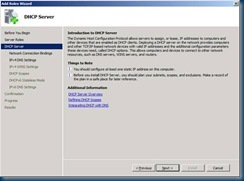 How to install a DHCP Server with the 80 20 rule or 50 50 rule in a few clicks