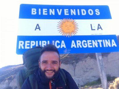 Mattia Fiorentini Scomfort zone autostop Cile Argentina vivere in Argentina