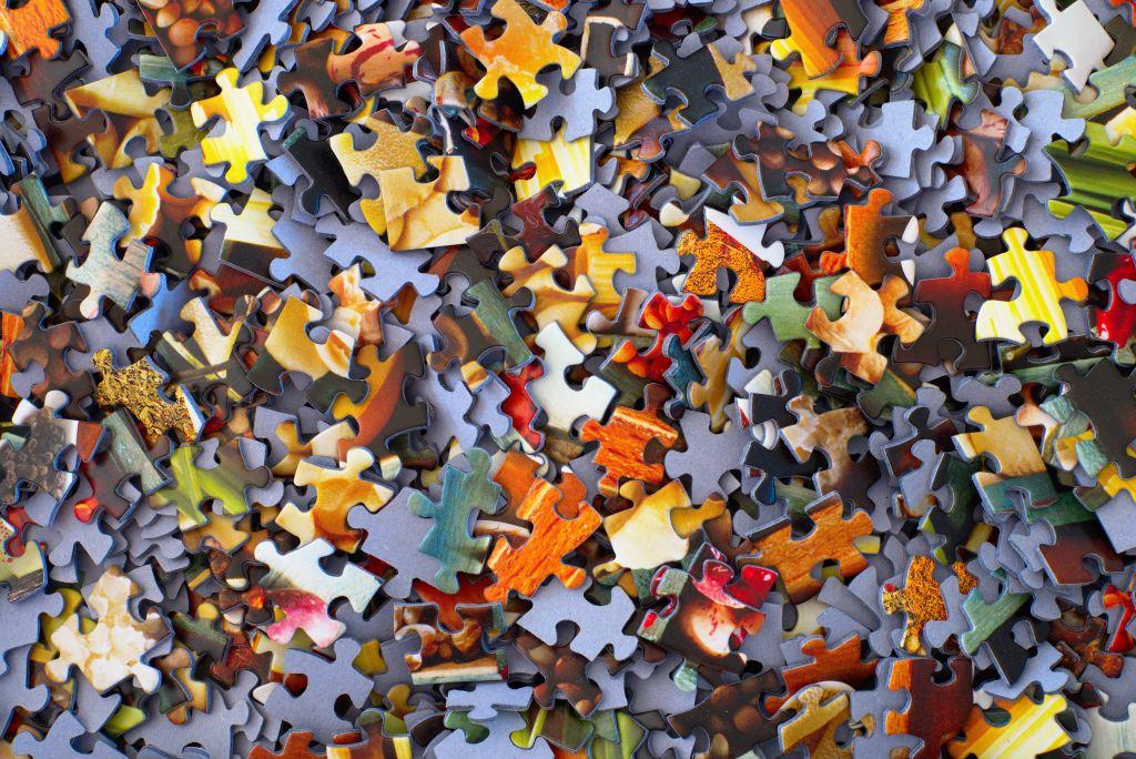 puzzle ricomporre i pezzi della propria vita sconfort zone