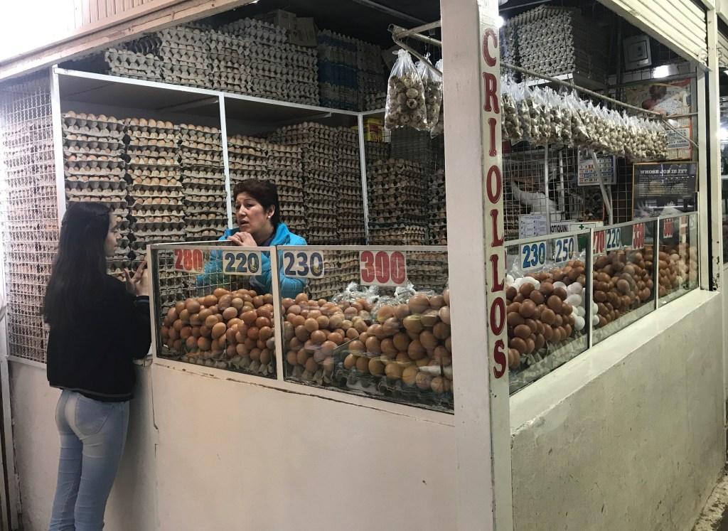mercado de paloquemao bogotà colombia uova