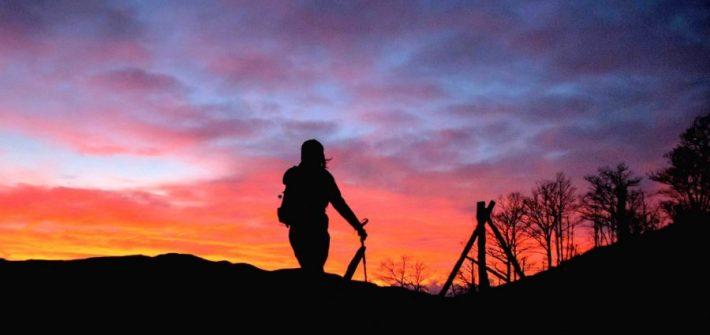 escursione al tramonto monte falterona parco nazionale foreste casentinesi