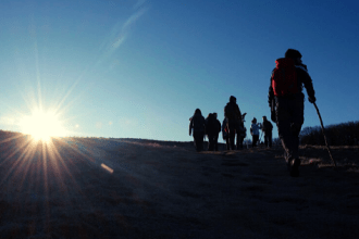 Trekking camminate a piedi da fare parco foreste casentinesi Romagna Toscana itinerari guida ambientale Mattia Fiorentini