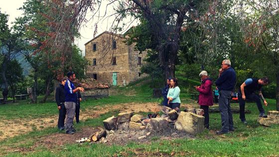eremo di trebbana scomfort trek Mattia Fiorentini viaggiatore e guida ambientale parco foreste casentinesi