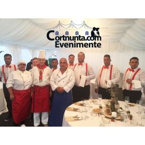 Chef Vasile Stan impreuna cu echipa Cortnunta.com