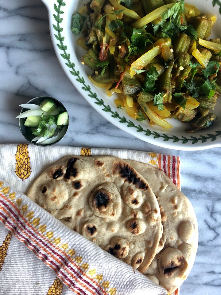 Bhindi Pyaaz (Okra and Onion Stew)
