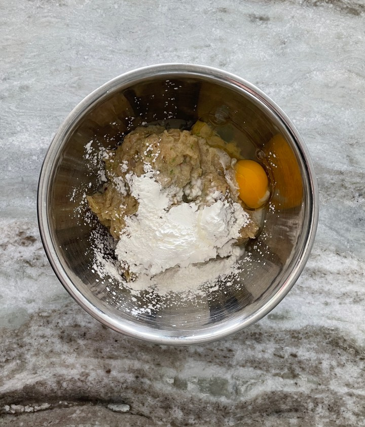 the egg helps bind the ground chicken burgers