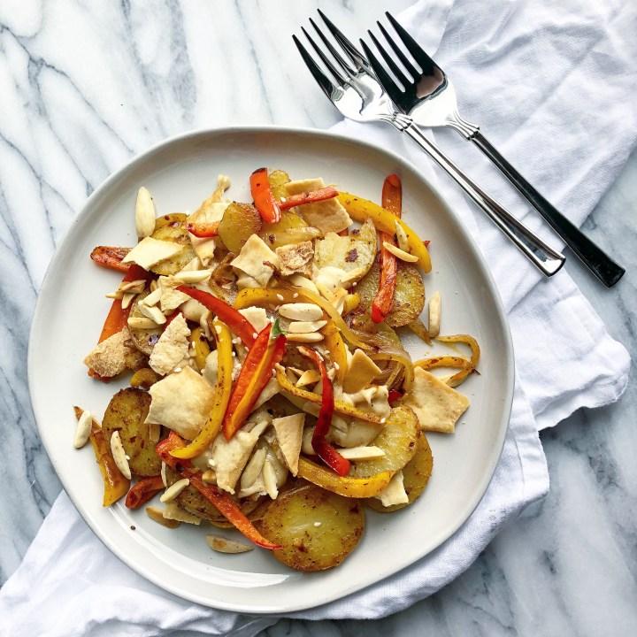 potato fatteh