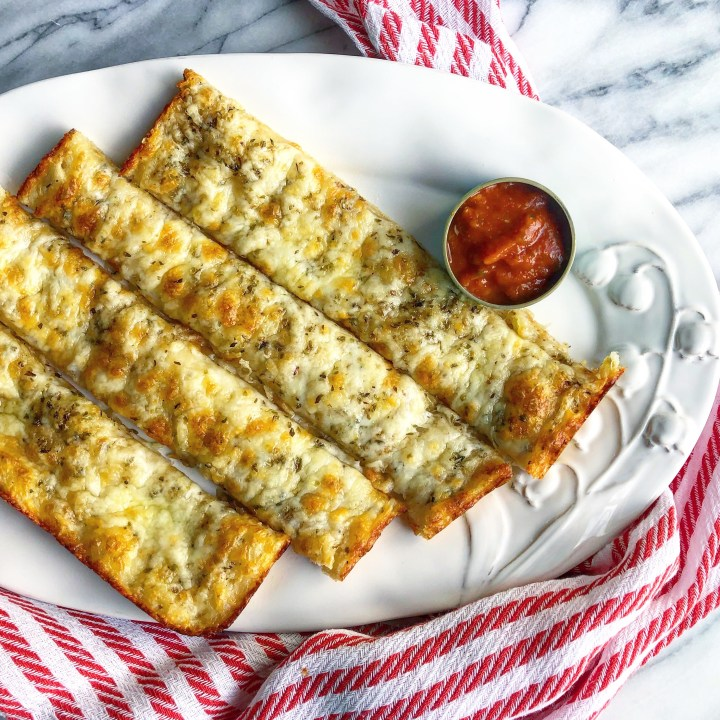 Cheesey Garlic Breadsticks