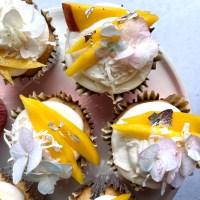 Mango Lassi Cupcakes