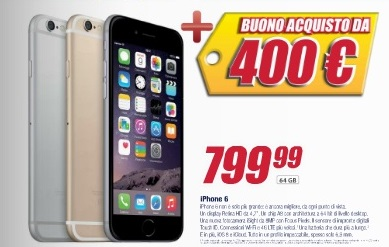 Big Bang Trony - iPhone in offerta