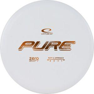 Фризбі диск-гольф Latitude 64 Zero Soft Pure