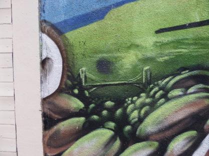 Detail, Zase and Dekor, Gloucester Road, Bristol, August 2015