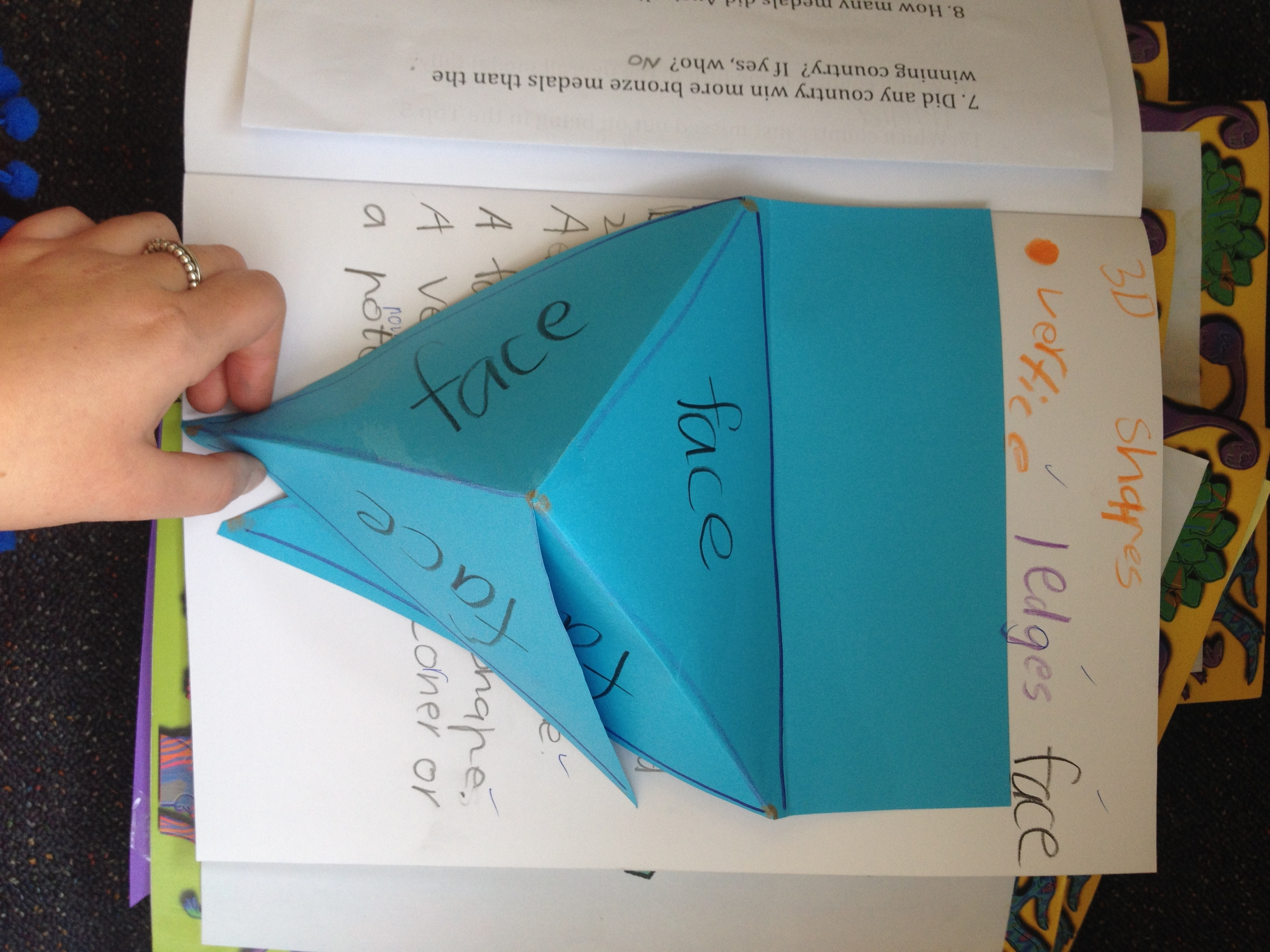 Learning 3d Shapes Edges Vertices And Faces