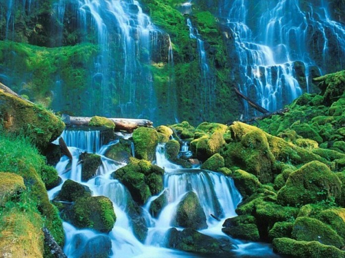 Latest High Waterfalls Nature Wallpapers Collection 2020