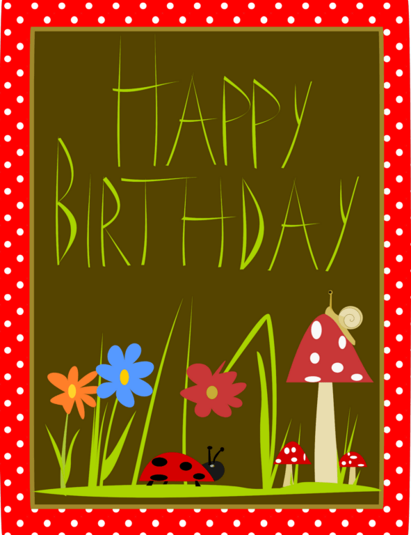 free Happy Birthday card for your friend