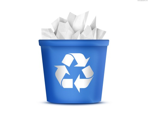 GET BACK YOUR RECYCLE BIN