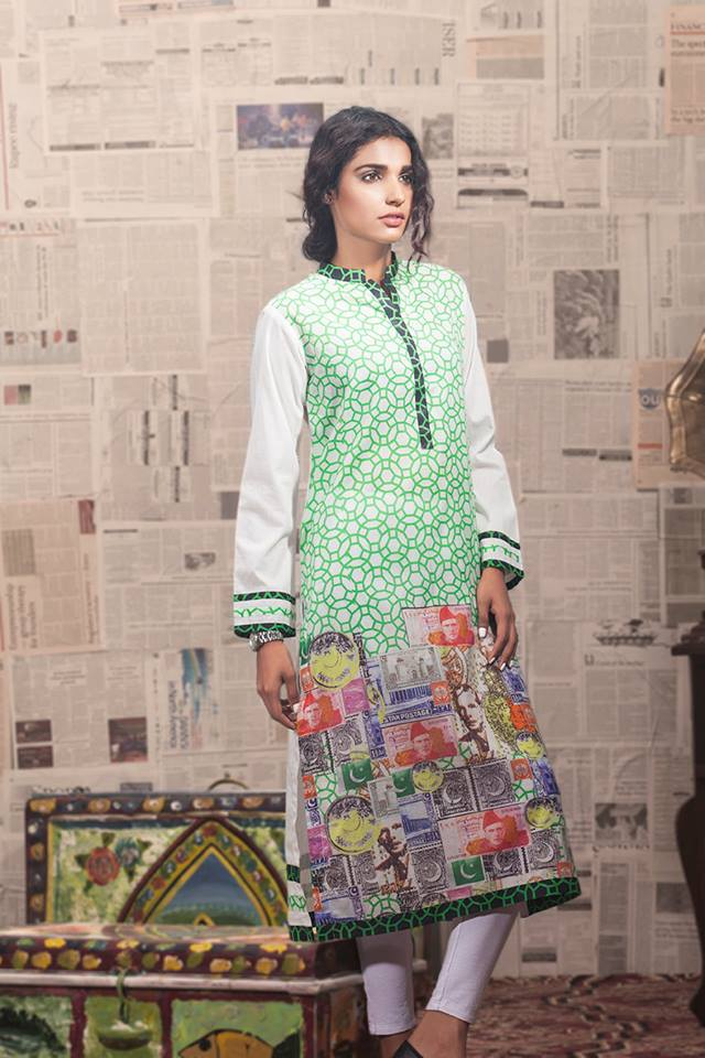 Gul Ahmed Lates 14 August 2014 Independence Day Dresses 2014 for Women (2)