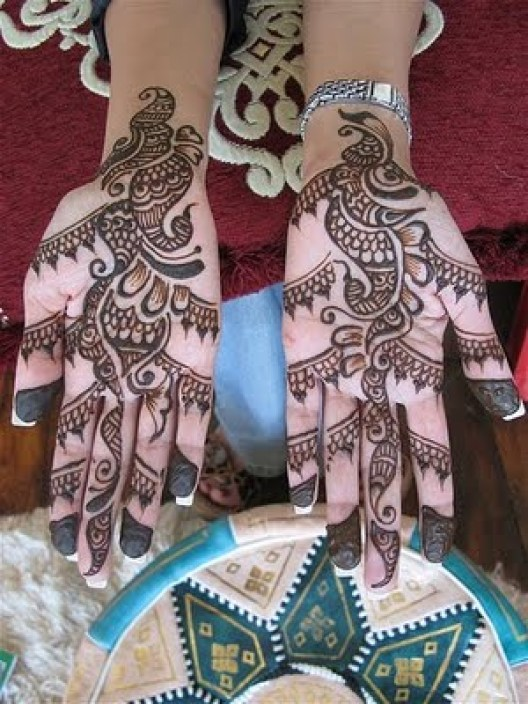 Eid ul azha Mehndi Design Bakra Eid Henna Art 2014 for Women (4)
