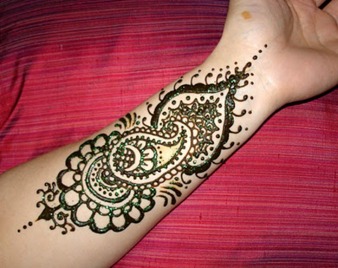 Latest Eid ul Adha (Bakra Eid) Mehndi Art Designs 2014-2015 (3)