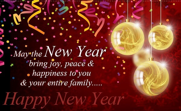 Latest Happy New Year sms Poetry 2021