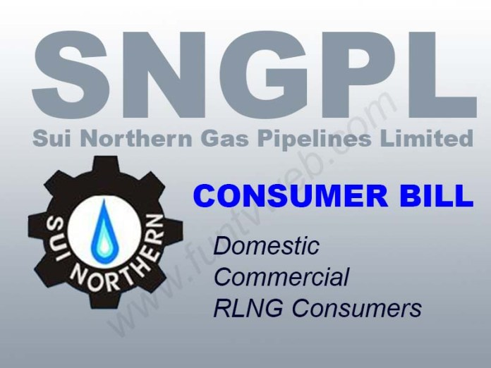 Check sui northern gas pipelines limited consumer bill