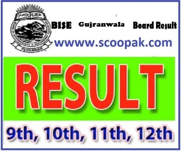 BISE Gujranwala Board (10th Class) Matric / SSC Part-2 Result 2020 announced