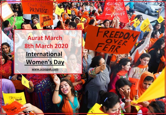 Women's March Aurat March