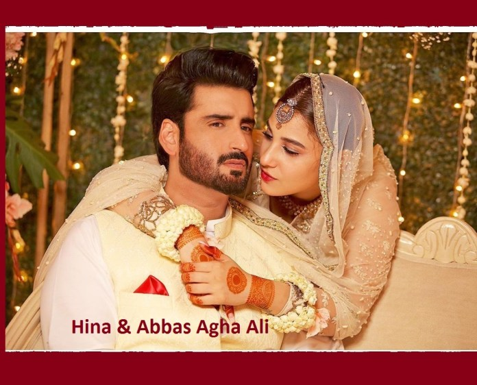 Abbas Agha Ali and Hina Altaf Marriage