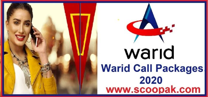 Warid Call Packages Hourly, Daily, Weekly And Monthly 2020