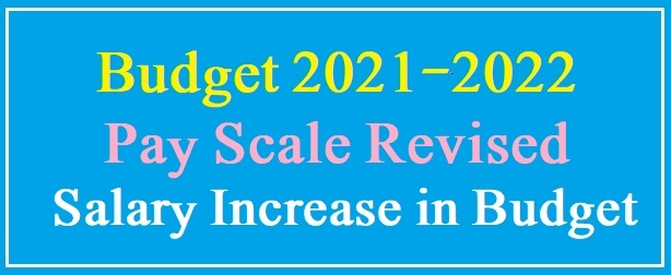 Pay Scale Revised BS-1 to BS-19 in Budget 2021-2022