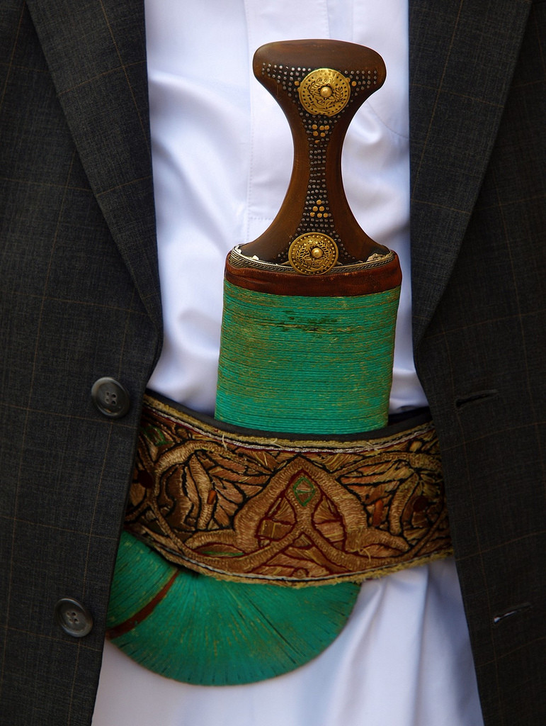 Traditional Yemeni jambiyah knife (Martin Sojka/flickr)