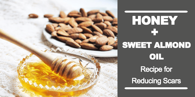 Honey and sweet almond oil