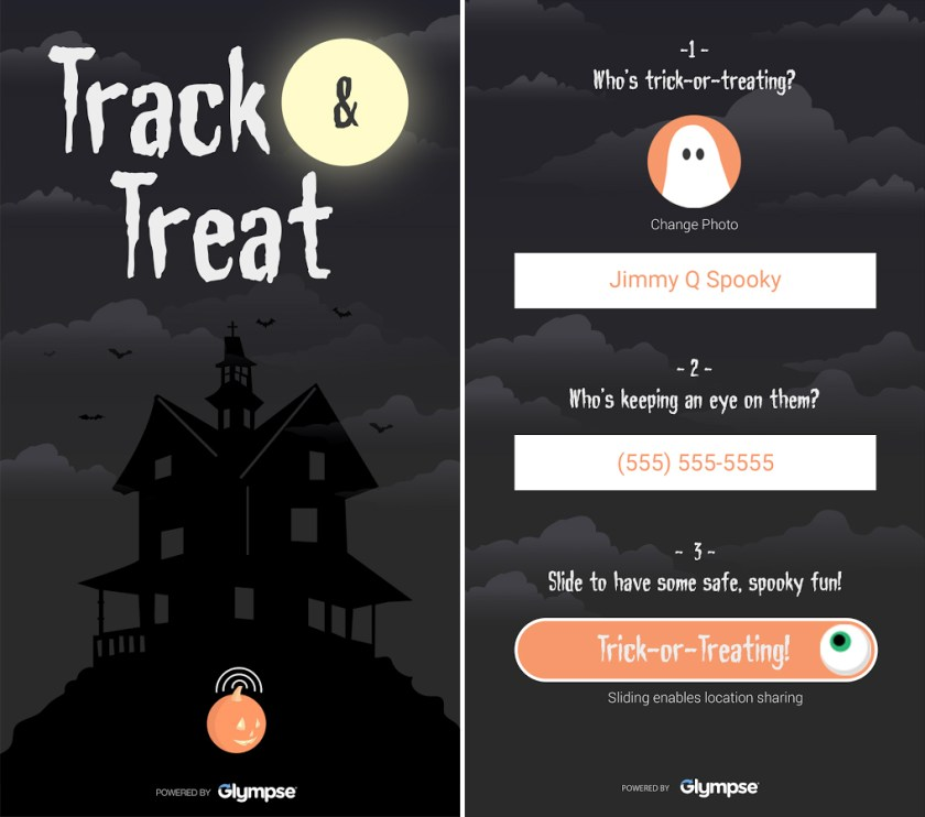 track or treat