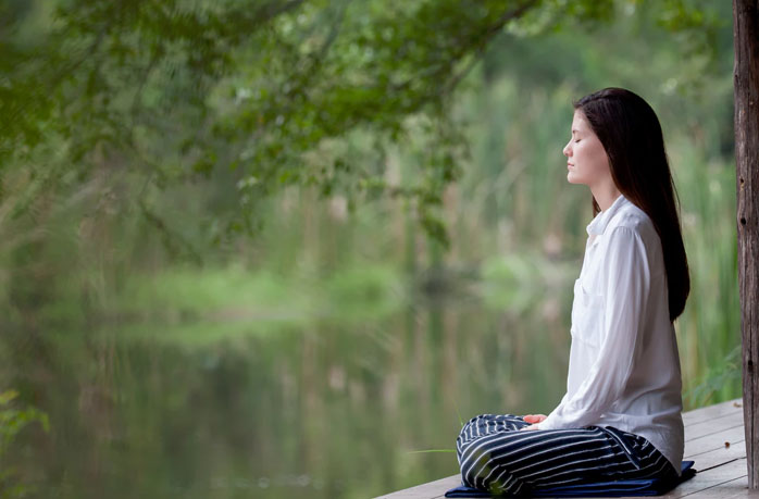 meditate - healthy life