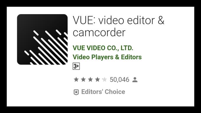 VUE: Video Editor