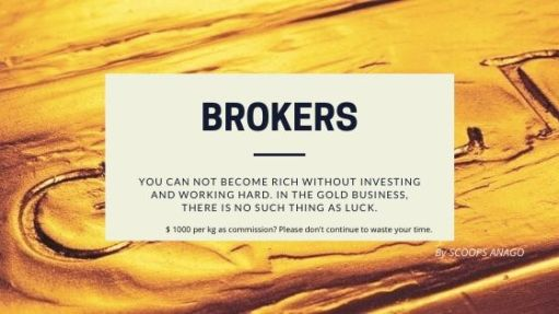 BROKERAGE IN THE GOLD BUSINESS 1