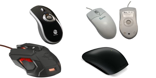 types of computer mouse