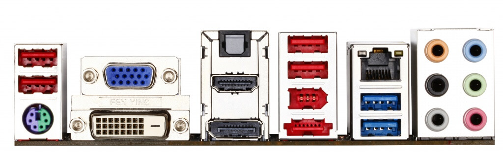 Motherboards connectors