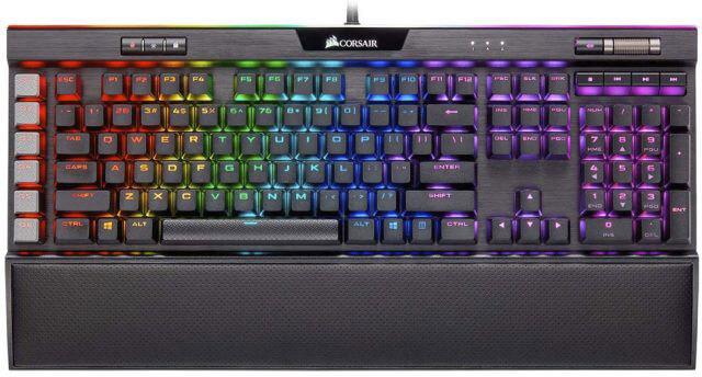 k95 rgb platinum mechanical gaming keyboard